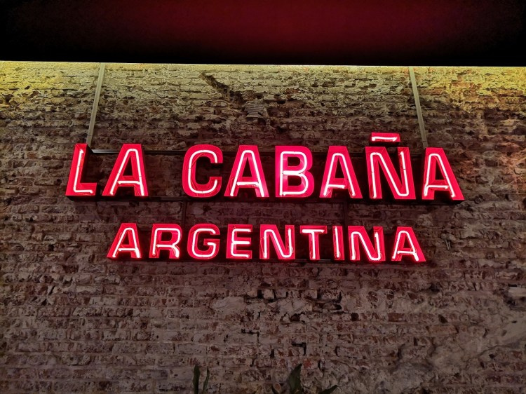 La Cabaña Argentina Enjoying Madrid