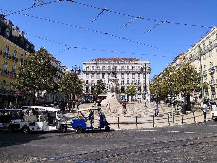 Luís de Camões Square - Lisbon