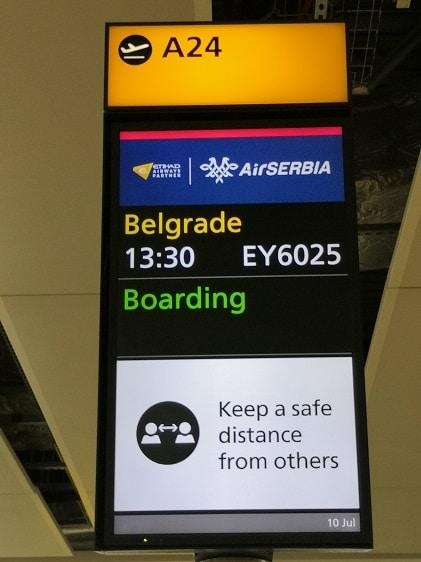 Back in Belgrade