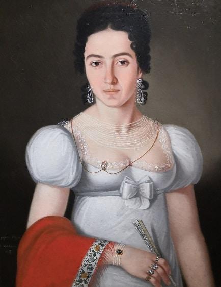 Serbian 19th century portraits