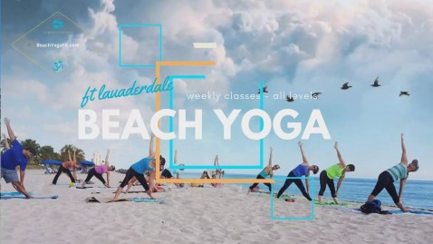 Friday Beach Yoga Fit - All Levels @ Fort Lauderdale Beach - Oceanside