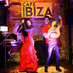Latin Flamenco at Cafe Ibiza @ Cafe Ibiza