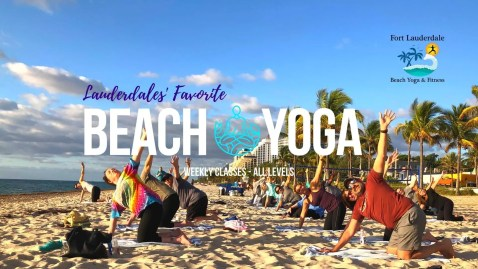 Sunday Beach Yoga 4 Everyone @ Fort Lauderdale Beach