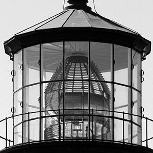 Lighthouse glass detail