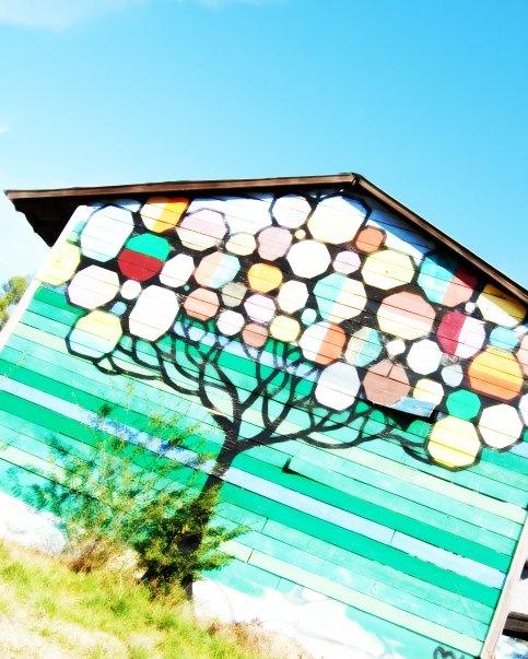 Painted Barns