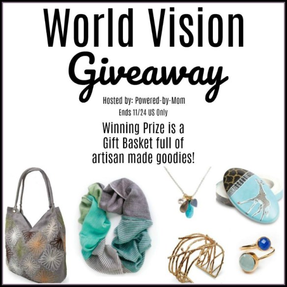 world vision giveaway