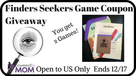 Finders Seekers Game Coupon