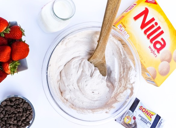chocolate shake dip