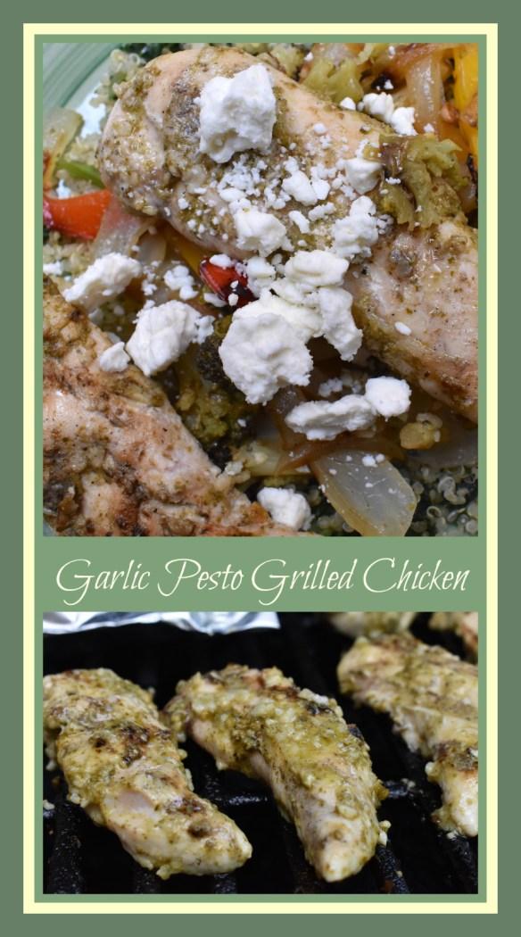 Garlic Pesto Grilled Chicken