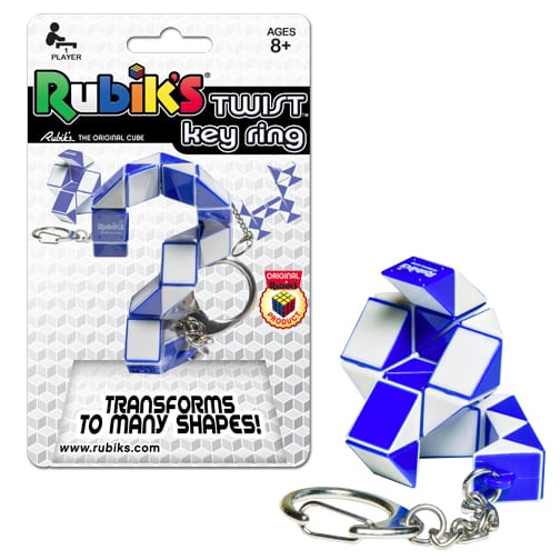 Rubiks Twist Keyring