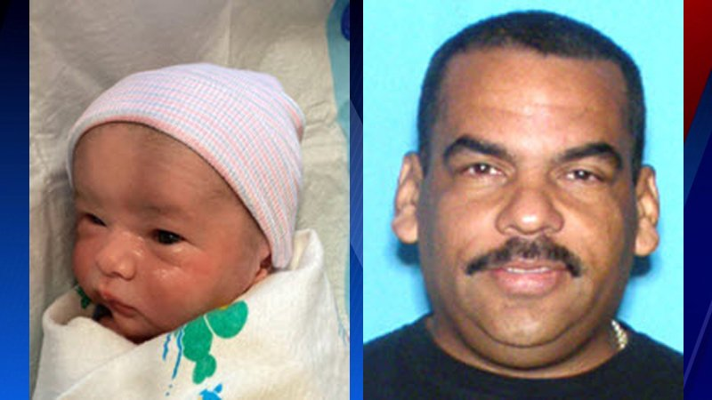 Andrew Caballeiro (left), a 1-week-old boy, is missing. Investigators believe he may be with Ernesto Caballeiro (right).
