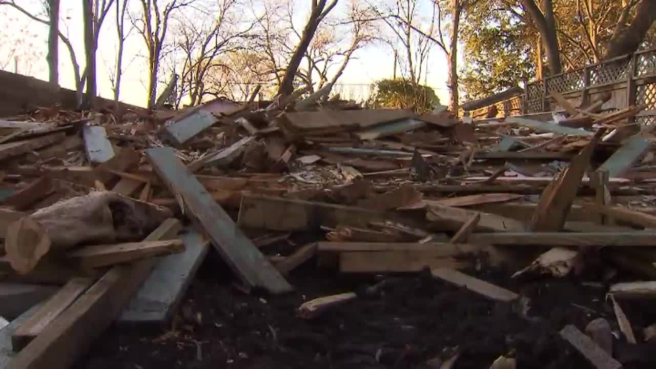 Demolition crew accidentally tears down wrong house