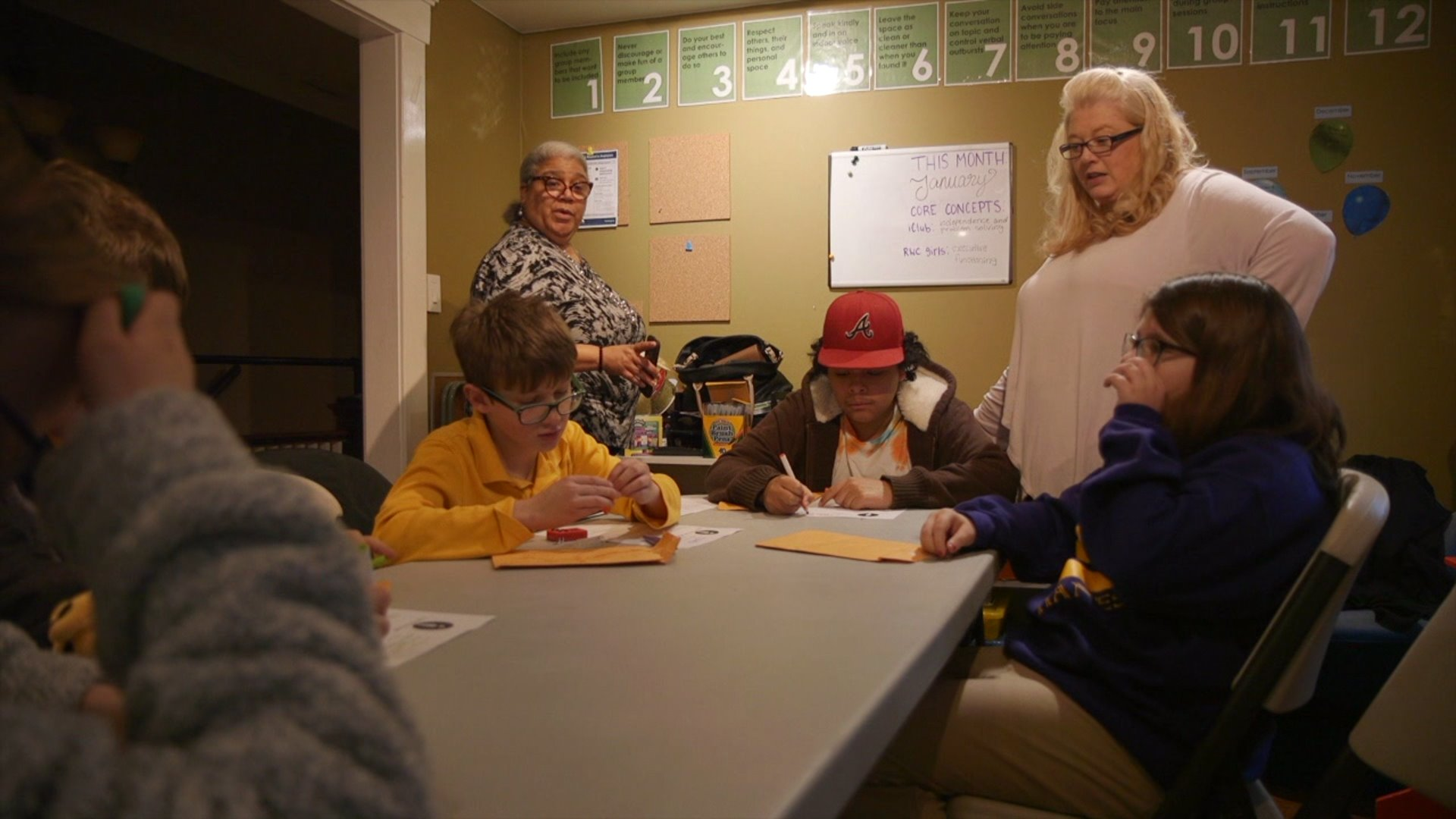 A handful of young people meet at ICan House in Downtown Winston-Salem once a week to play games, participate in guided conversations and make friends.