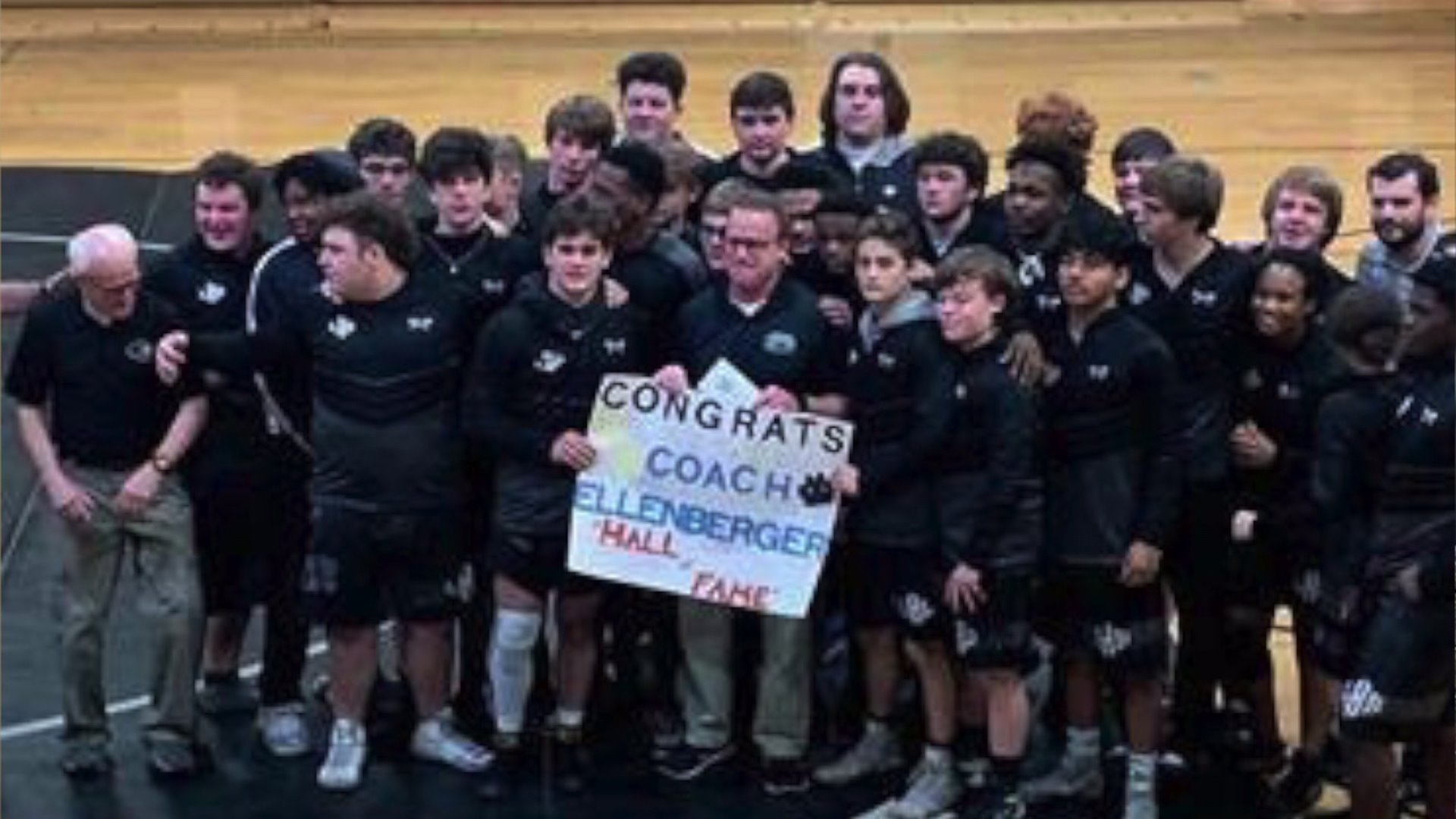 Tim Ellenberger, High Point Police Captain and Ledford High School coach, inducted into National Wrestling Hall of Fame
