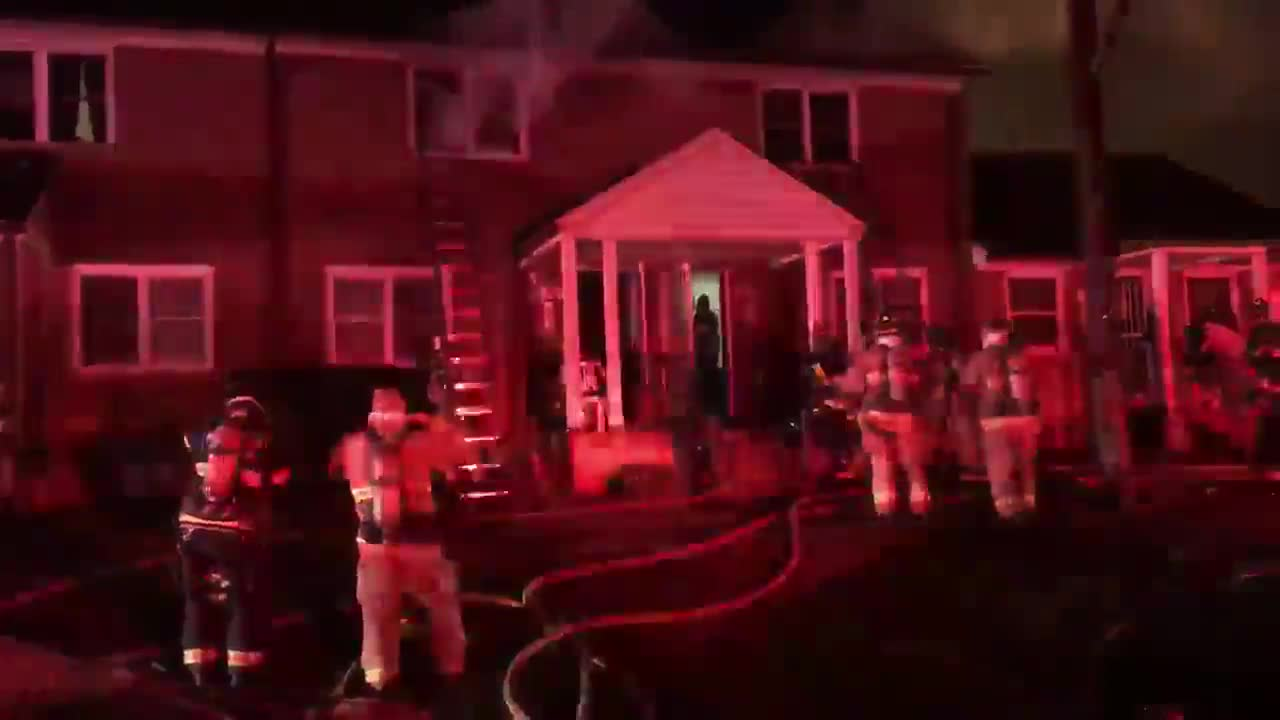 Three people have been displaced after a fire on East 29th Street in Winston-Salem, according to the Winston-Salem Fire Department.