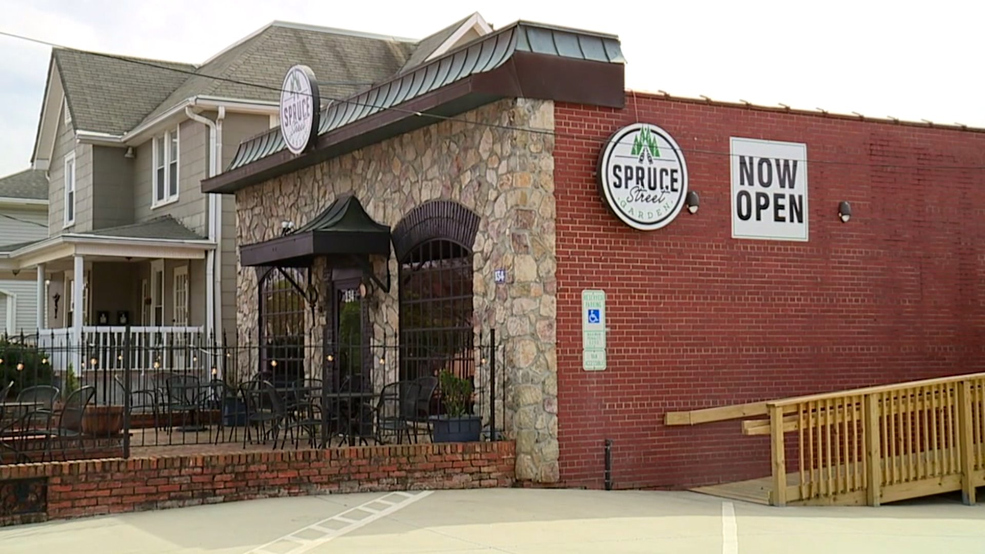 Spruce Street Garden in Winston-Salem forced to shut down as dining room closures take a toll