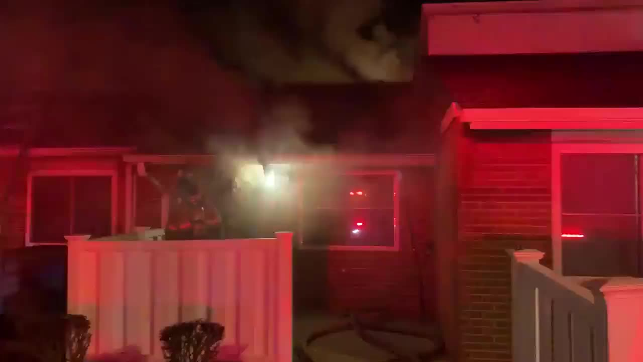 Fire crews responded to an apartment fire at 860 File Street, according to the Winston-Salem Fire Department.