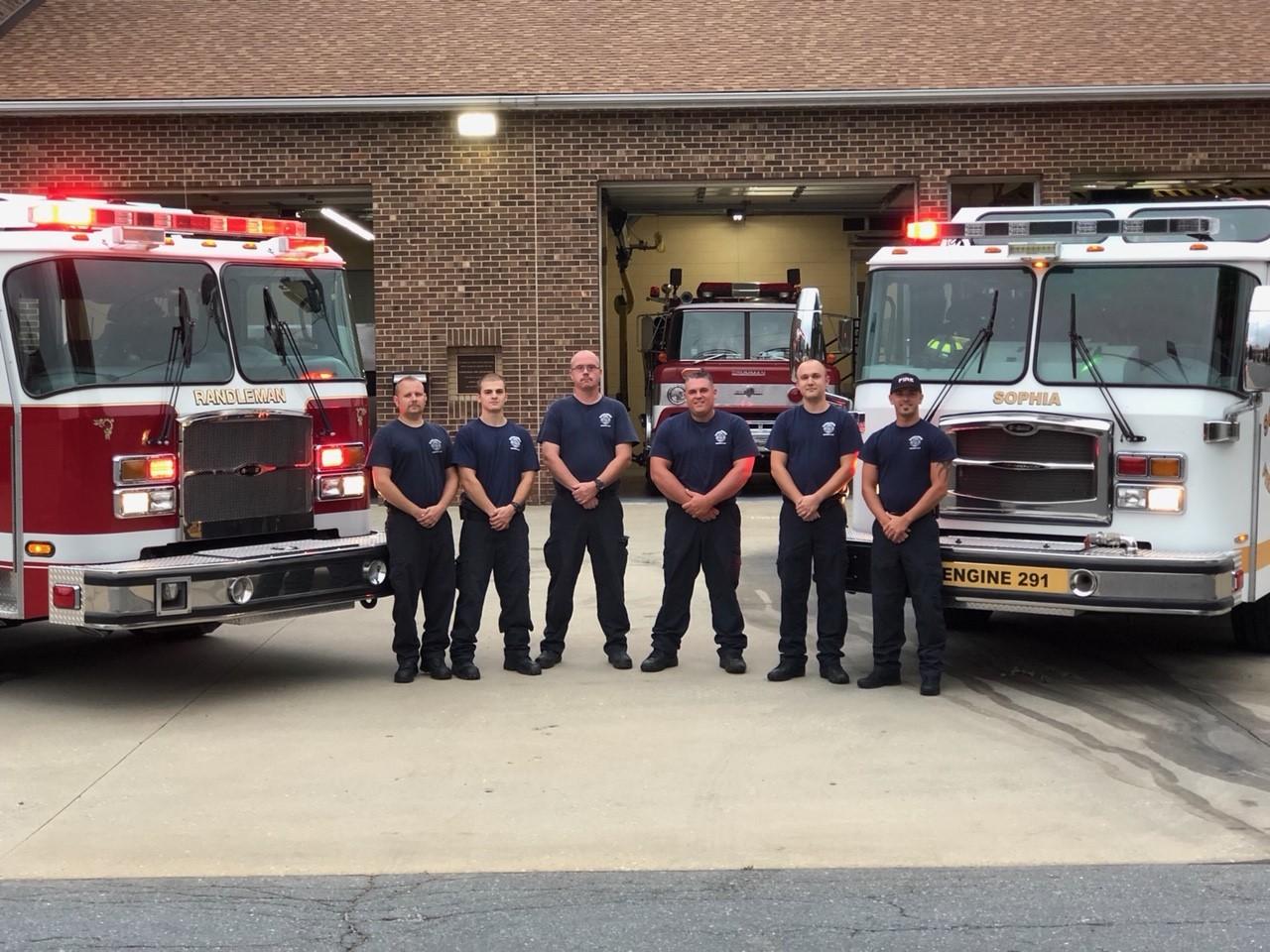 FOX8 Highlighting Heroes: Randleman and Sophia Fire Departments