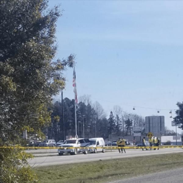 Man hit, killed by vehicle near Lexington Senior High School, police say (credit: Aj Burke)
