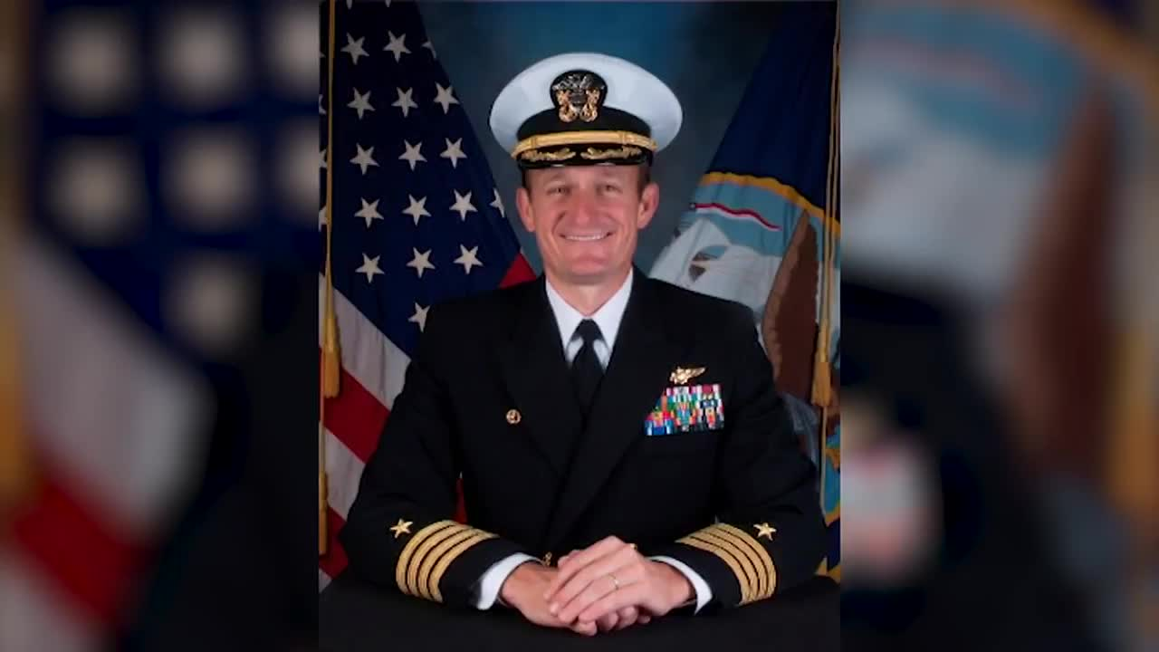 Ex-Navy commander who sounded alarm over coronavirus outbreak tests positive for virus