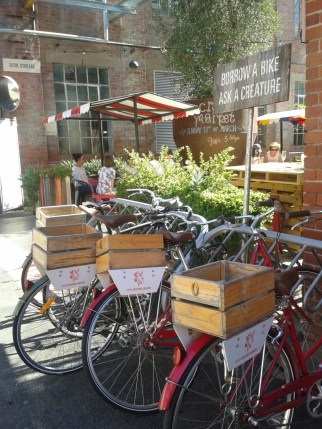 Bikes at Little Creatures Brewery