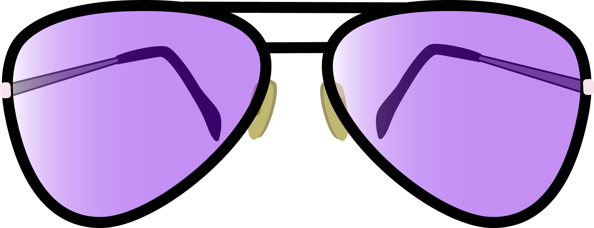 Aviator Glasses PNG