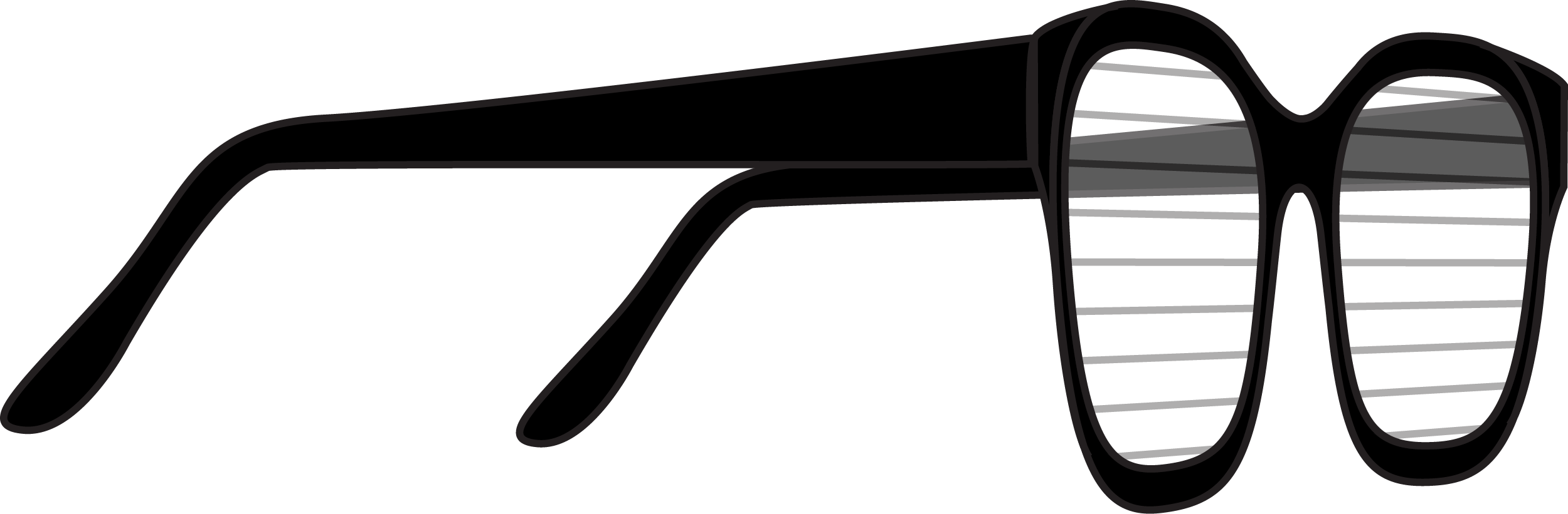 Glasses PNG Claipart
