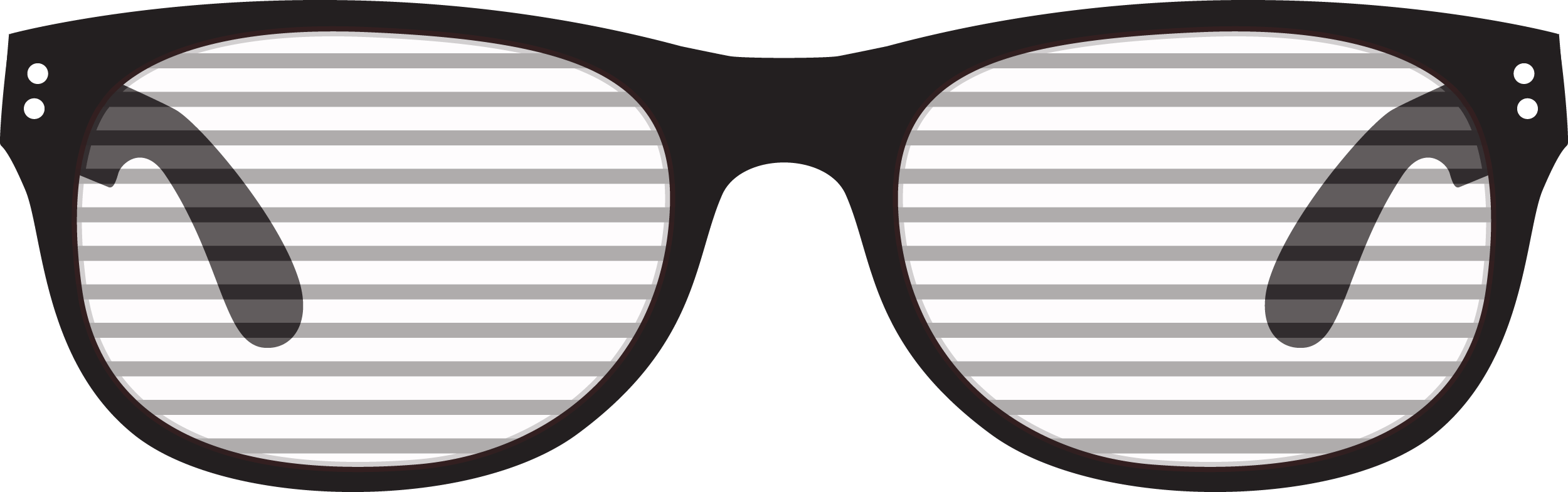 Party Shutter Glasses PNG 26