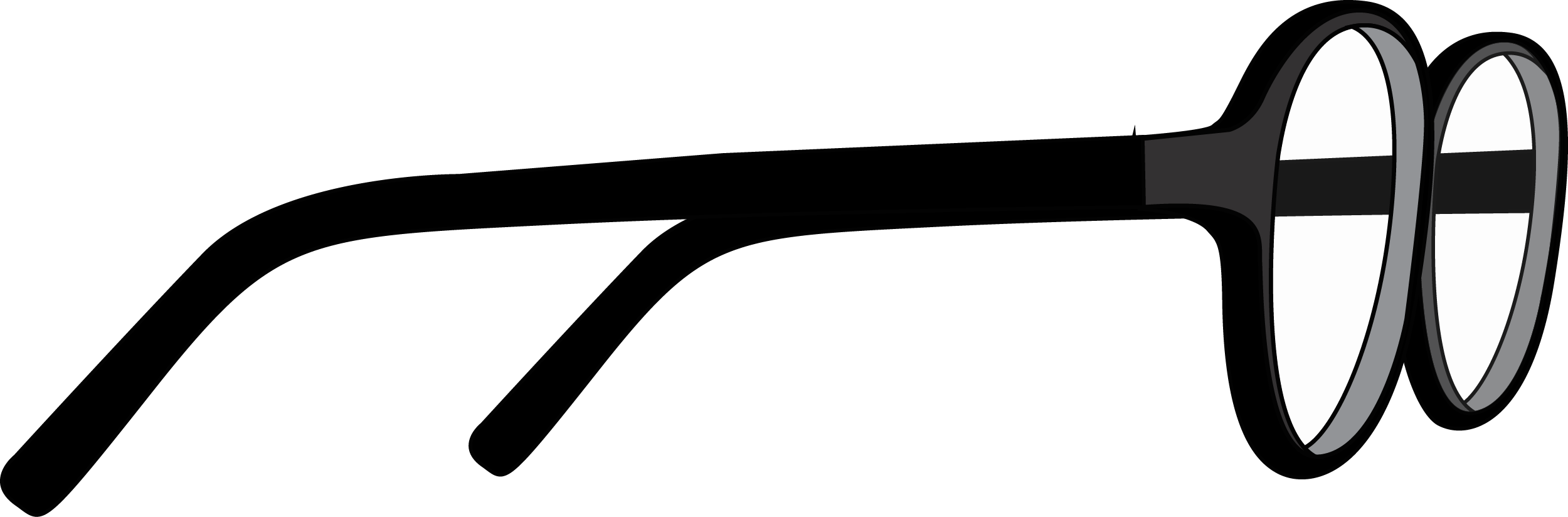 Side-view Glasses PNG