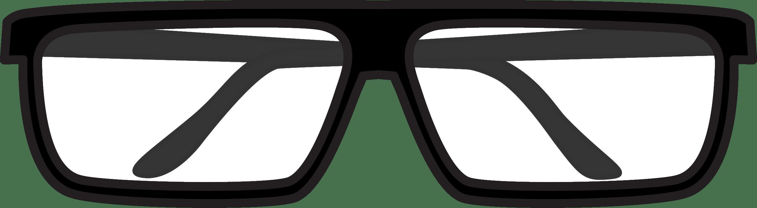 Simple EyeGlasses PNG