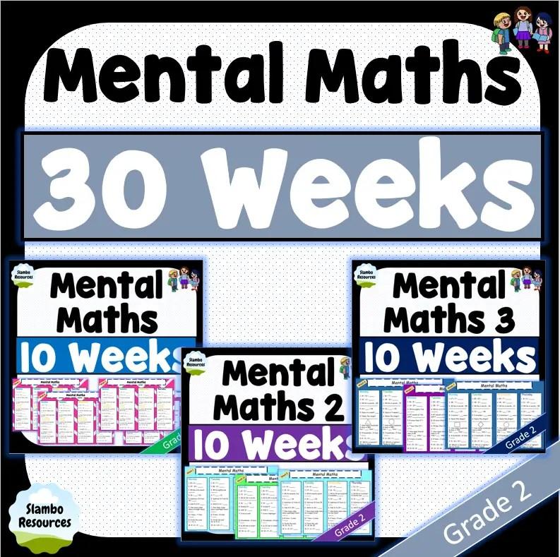 Grade 2 mental maths