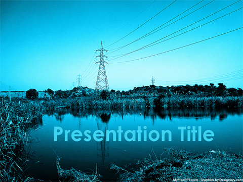 Free Power Grid PowerPoint Template  Download Free PowerPoint PPT
