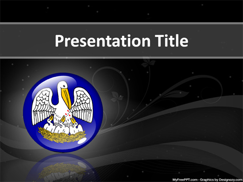 Free Louisiana Powerpoint Template Download Free