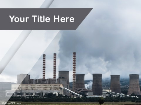 Free Air Pollution PPT Template