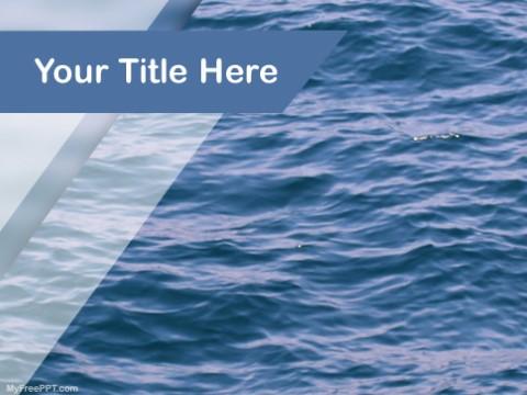 Free Aqua Ocean PPT Template