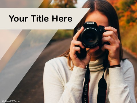 Free Being A Photographer PPT Template