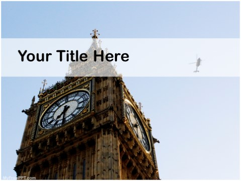 Free Big Ben PPT Template