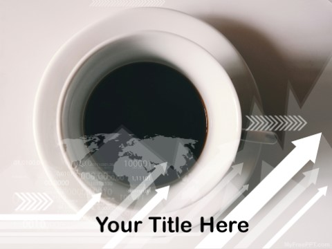 Free Black Coffee PPT Template