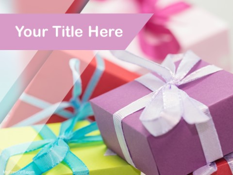 Free Bonus & Gifts PPT Template