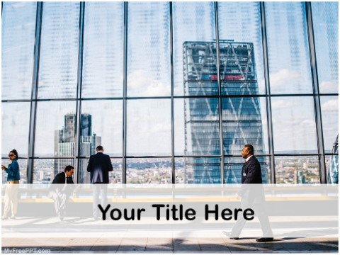 Free Business Photography PPT Template