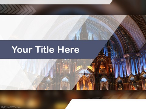 Free Christianity PPT Template