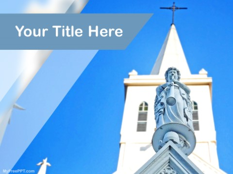 Free Church PPT Template - Download Free PowerPoint PPT