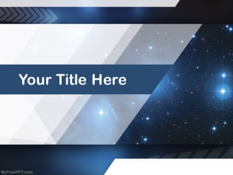 Free Constellation PPT Template