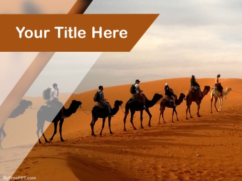 Free Desert Safari PPT Template