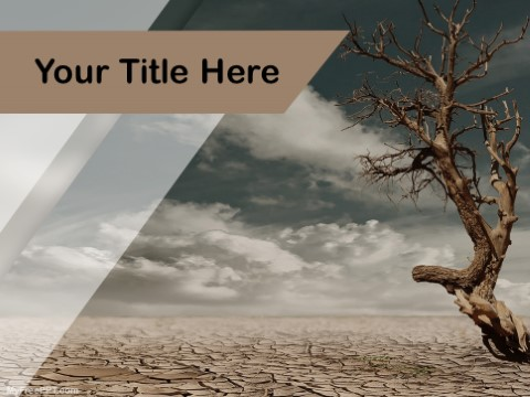 Free drought ppt template download free powerpoint ppt free drought ppt template download here toneelgroepblik Images