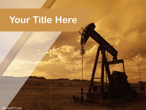 Free Fuel Exploration PPT Template