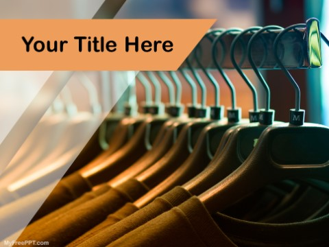 Free Garment Industry PPT Template
