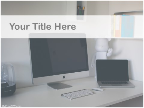 Free Home Workplace PPT Template