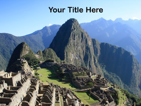 Free Inca Civilization PPT Template