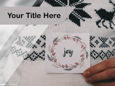 Free Joy PPT Template